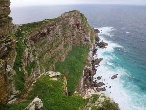 Cape Point Cliffs by David Stanley